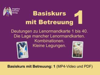 Kartenlegen Lernen Basiskurs 1