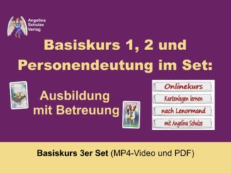 Kartenlegen Lernen Basiskurs 3er Set