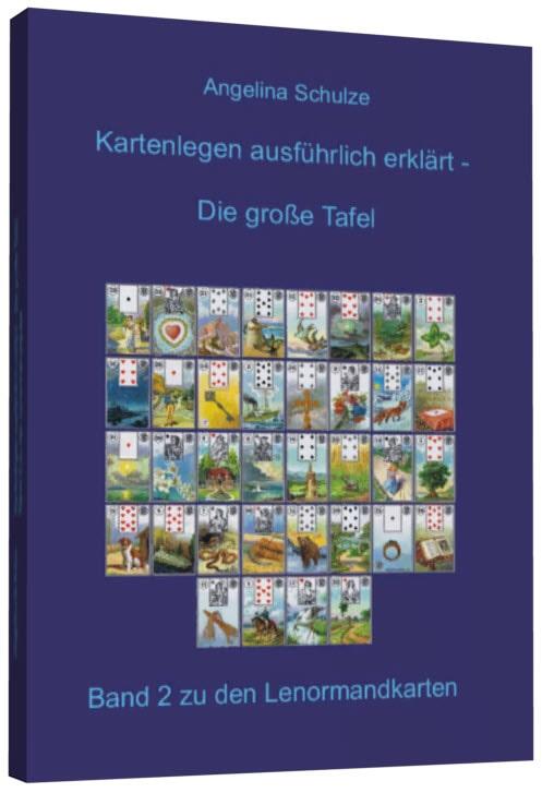 Kartenlegen lernen Lenormand Buch 2 Cover