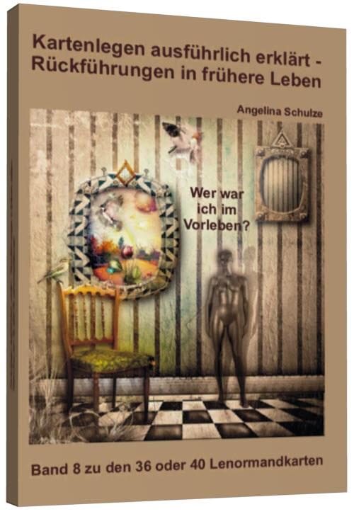 Kartenlegen lernen Lenormand Buch 8 Cover